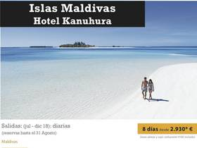 ISLAS MALDIVAS - HOTEL KANUHURA