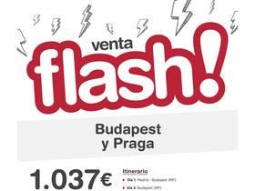OFERTA FLASH BUDAPEST Y PRAGA